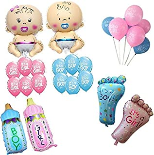 Party Propz Baby Shower Balloon for Decoration (Mix Colour) - Pack of 26 PCS