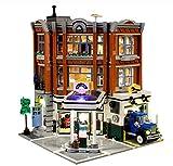 QZPM Kit De Iluminación Led para (Taller De La Esquina) Compatible con Ladrillos De Construcción Lego Modelo 10264, Juego De Legos No Incluido
