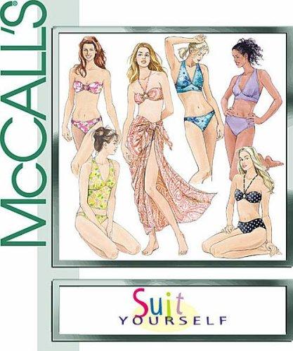 McCall 's m4471patrón de costura para patrones de costura para traje de...