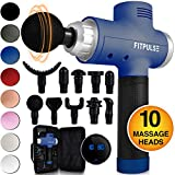 Muscle Massage Gun for Athletes - Percussion Massager Deep Tissue Massager Percussion Massage Gun...