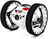 GBlife 2.4Ghz Wireless Remote Control Jumping RC Toy Cars Bounce Car Gift Toys for Kids Boys No WiFi (White)
