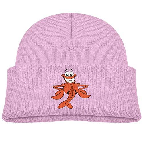 Cartoon Hummer Kleinkind Baby Mädchen Jungen Mützen Hut Strick Mütze Mütze