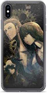 Anime Manga Japan Comic Steins;Gate Japanese Anti-Scratch Shockproof Case for iPhone 7 Plus/8 Plus