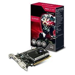 Sapphire 11216-02-20G AMD Radeon R7 240 Grafikkarte (PCI-e, 4GB, DDR3 Speicher, VGA, DVI, HDMI)