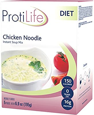 ProtiLife - Naturally Flavored Instant Soup Mix, 5 Pouches