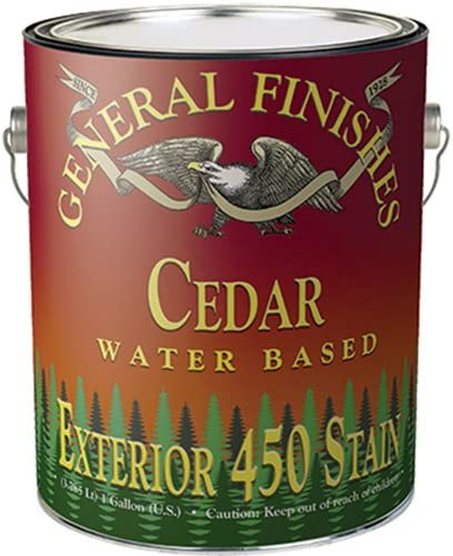 General Finishes Water Based free Selling Exterior Stain 450 Quar Bean Coffee