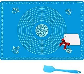Nifogo Tapete de Cocción Lámina de Horno de Silicona Antiadherente, Juego de Repostería Profesional, Ecológico y Reutilizable 70x50cm