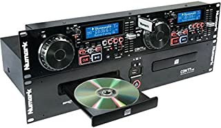 Numark CDN77USB | Professional Dual USB and MP3 CD Player for Professional DJ Use With Performance-Driven Feature Set, CD / MP3CD Support and D3 Tag & Folder Recognition