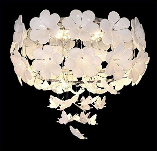 BAJIAN-LI in Europese stijl van de tuin met kristallen, creatief, kroonluchter, kroonluchter, lampen, slaapkamer, lounge ridder violet