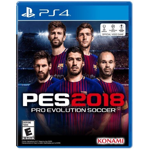 Pro Evolution Soccer 2018 – Standard Edition – PlayStation 4