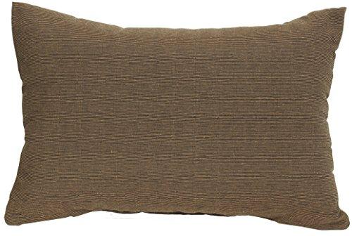 Beo Beo Rückenkissen/DekoP202 Lounge Rückenkissen Sofakissen, Dunkelbraun, 60 x 40 cm