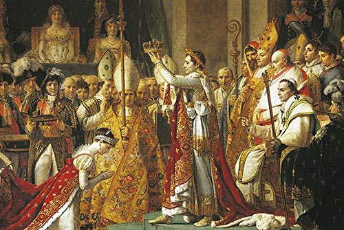 Rompecabezas de la coronación de Napoleón I Rompecabezas, 1000 Piezas Rompecabezas de Estilo de Pintura al óleo del Personaje de Madera, Juego de Juguetes educativos de Bricolaje Familiar