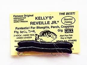 Reveille, Jr. Kelly's Bass Worms Purple Wild Grape - 6 Count