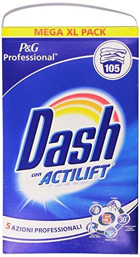 Dash - Detersivo in Polvere per Bucato in Lavatrice e a Mano, Con Actilift - 6825 g