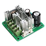 DROK dc モーターコントローラー スピードコントローラ ブラシ付きのモーター用 スイッチ6V 12V 36V 60V 90V 15A 1000W PWMコントローラ パワーリバース 保護付き 調整可能なPLC スピードガバナ モータ 速度制御 レギュレータ
