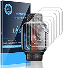LK [6 Pack] Screen Protector for Apple Watch 44mm Series 4/5 – Max Coverage..