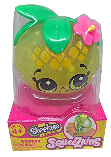 Shopkins Squeezkins Pineapple Crush Squeezable Gel Figure