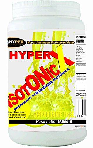 Sali Minerali Energetico gr 800 Con Maltodestrine Carboidrati Magnesio Vitamina C Preparato Bevanda Isotonica Gusto Limone Senza Aspartame