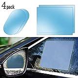Rainproof Snowproof Car Rear View Mirror Film, HD Clear Anti-Fog Nano Coating waterproof Films Anti-scratch Protector for Car Mirrors Side Windows