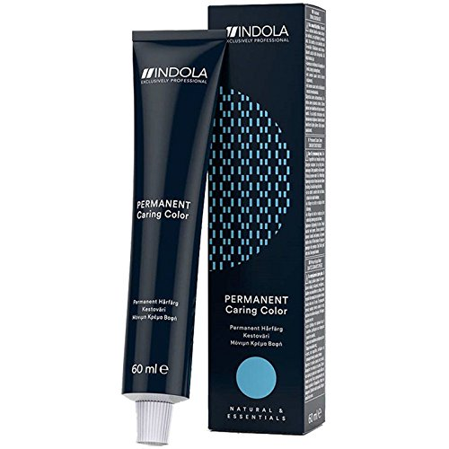 Indola Haarfarbe Permanent Caring Pixel 4.3 Mittelbraun Gold, 60 ml