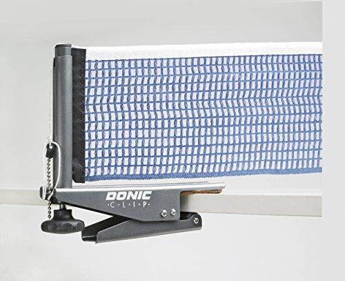 DONIC Netzgarnitur Clip Netze, Graumetallic-Blau, One Size