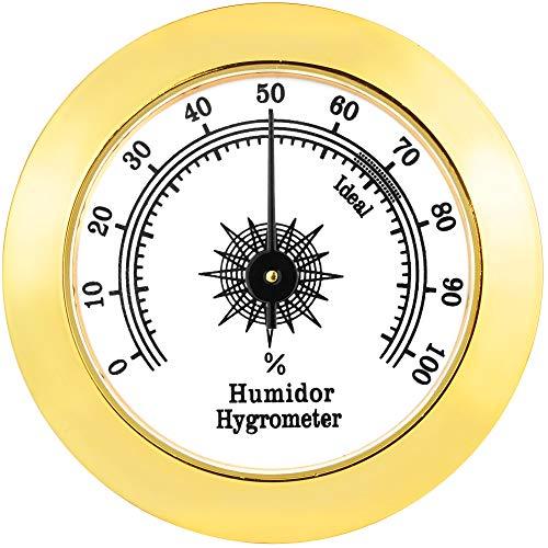 CyJay Round Analog Hygrometer
