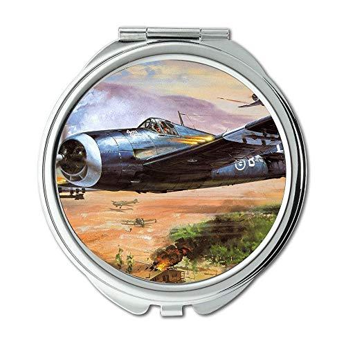Yanteng Weltkrieg Flugzeuge, Spiegel, Schminkspiegel, e Wing Fighter, Taschenspiegel, Tragbare Spiegel