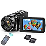 Video Camera Camcorder with Night Vision,Weton 1080P Full HD Digital YouTube Vlogging Camera