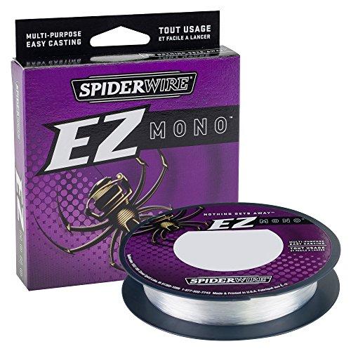 SpiderWire EZ Mono Fluorescent Clear/Blue, 12lb - 220yd