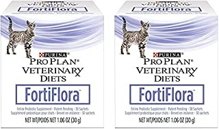 Purina 840235149217 Fortiflora Nutritional Supplement for Cats (2 Pack)