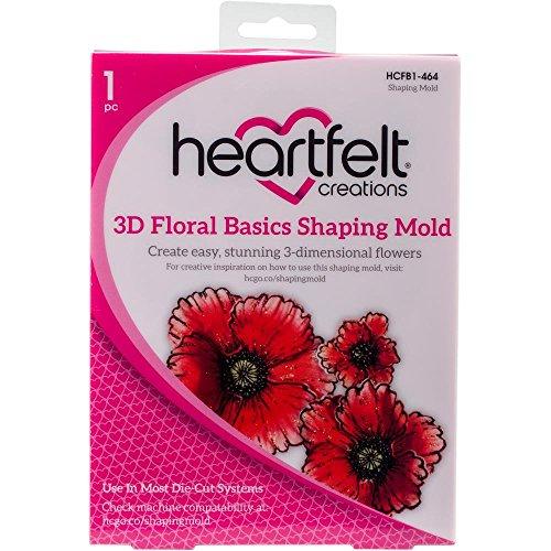 (3D Floral Basics) - Heartfelt Creations Shaping Mould