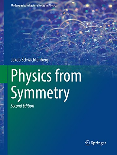Physics from Symmetry (Undergraduate Lecture Notes in Physics) (English Edition)
