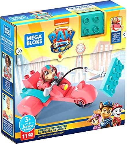 Mega Bloks Coche para construir, Vehículo de juguete de bloques de construcción, regalo para niños +1 año, Mattel GYH94