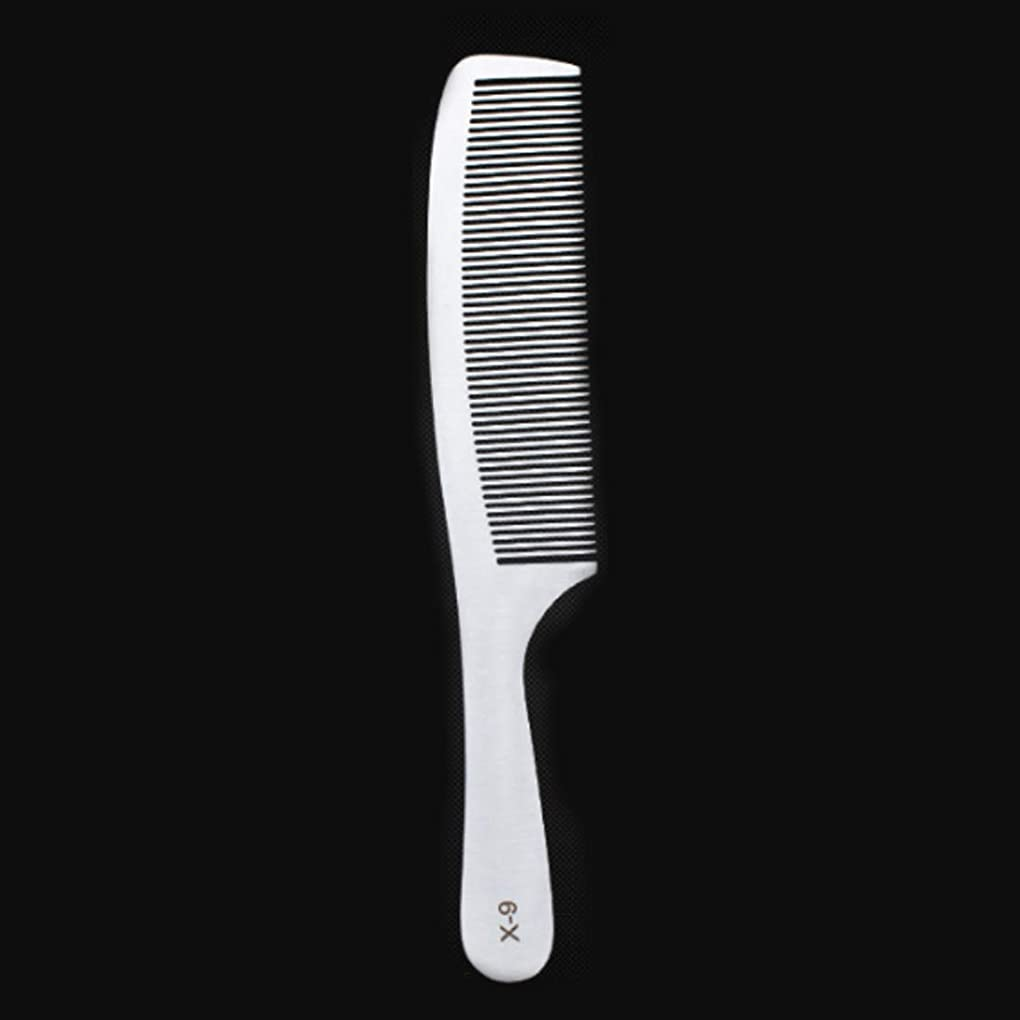 スキー聖歌サスティーン女性のための特別な薄いステンレス鋼の毛の櫛 - 静的な櫛または男性のためのフラットな髪の様々な櫛 (サイズ : X9)