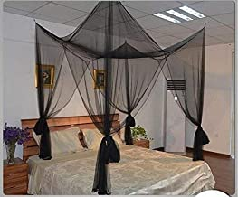 4 Corner Post Bed Canopy Mosquito Net for Full/Queen/King Size Bed/Baby,Tent for Single to Twin XL Size