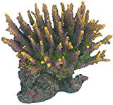 AQL Decoración Coral de Resina para Acuario Modelo Acropora 9 cm 14 x 10 x 12 h