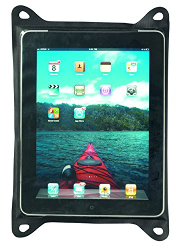 Sea to Summit Erwachsene Guide Waterproof Tablet Cases, schwarz, TPU-Zip Lock, Velcro-Verschluss, Befestigungsösen Schutztaschen, Mehrfarbig, One Size