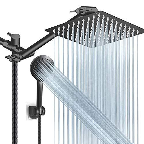 Shower Head Combo,8 Inch High Pressure Rain Shower Head...
