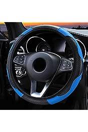 Lampa 33054 Sport Soft Drive color azul Funda para volante microfibra, 33-43/cm