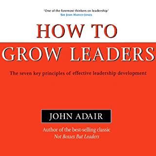 How to Grow Leaders cover art