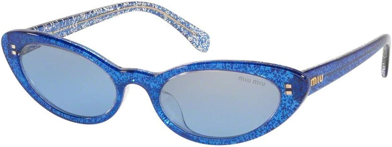 Sunglasses Miu MU store 9 Blue 1452B2 67% OFF of fixed price USA Glitter