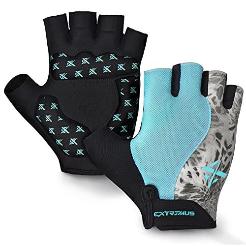 Extremus Antero Cycling Glove Fingerless Padded Workout Glove Bike Glove...