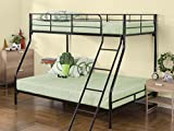 Zinus Hani Easy Assembly Quick Lock Metal Bunk Bed / Quick To Assemble in Under an Hour /...