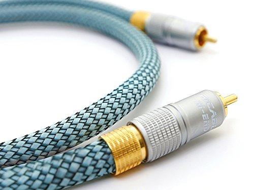 Ricable DH3 Hi-End Coaxial 3 MT - Hi-Fi Cable Audio Digital Coaxial...