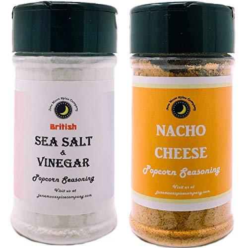 Cheapest Price! Premium | POPCORN SEASONING Variety 2 Pack | Sea Salt & Vinegar Popcorn Seasoning | ...