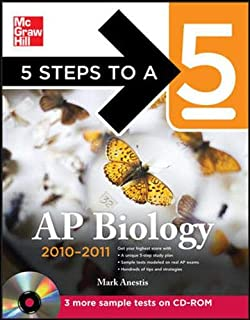 5 Steps to a 5 AP Biology with CD-ROM, 2010-2011 Edition (5 Steps to a 5 on the Advanced Placement Examinations Series)