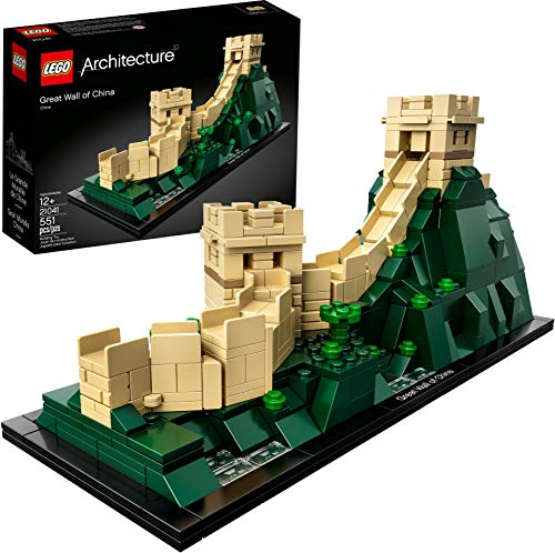 LEGO Architecture Great Wall of China 21041 Building Kit (551 Pieces) (Discontinued by Manufacturer)