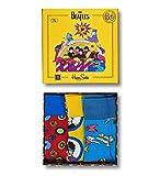 Happy Socks The Beatles Herren Geschenkset Mehrfarbig, The Beatles Socks Box Set 200, 36-40