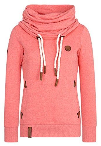 Naketano Female Sweatshirt Unterfickte Alte Kinky Red Melange, S