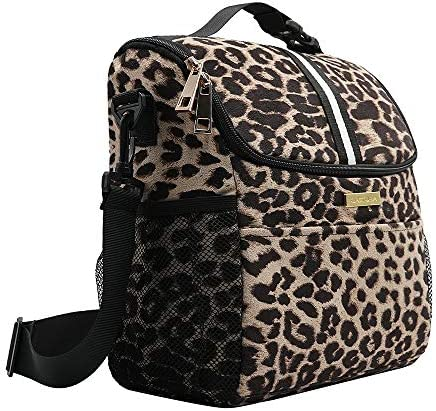 DOLAZAN Lunch Bag Insulated Lunch Box Lunch Tote Bag for Women with Detachable Shoulder Strap product image